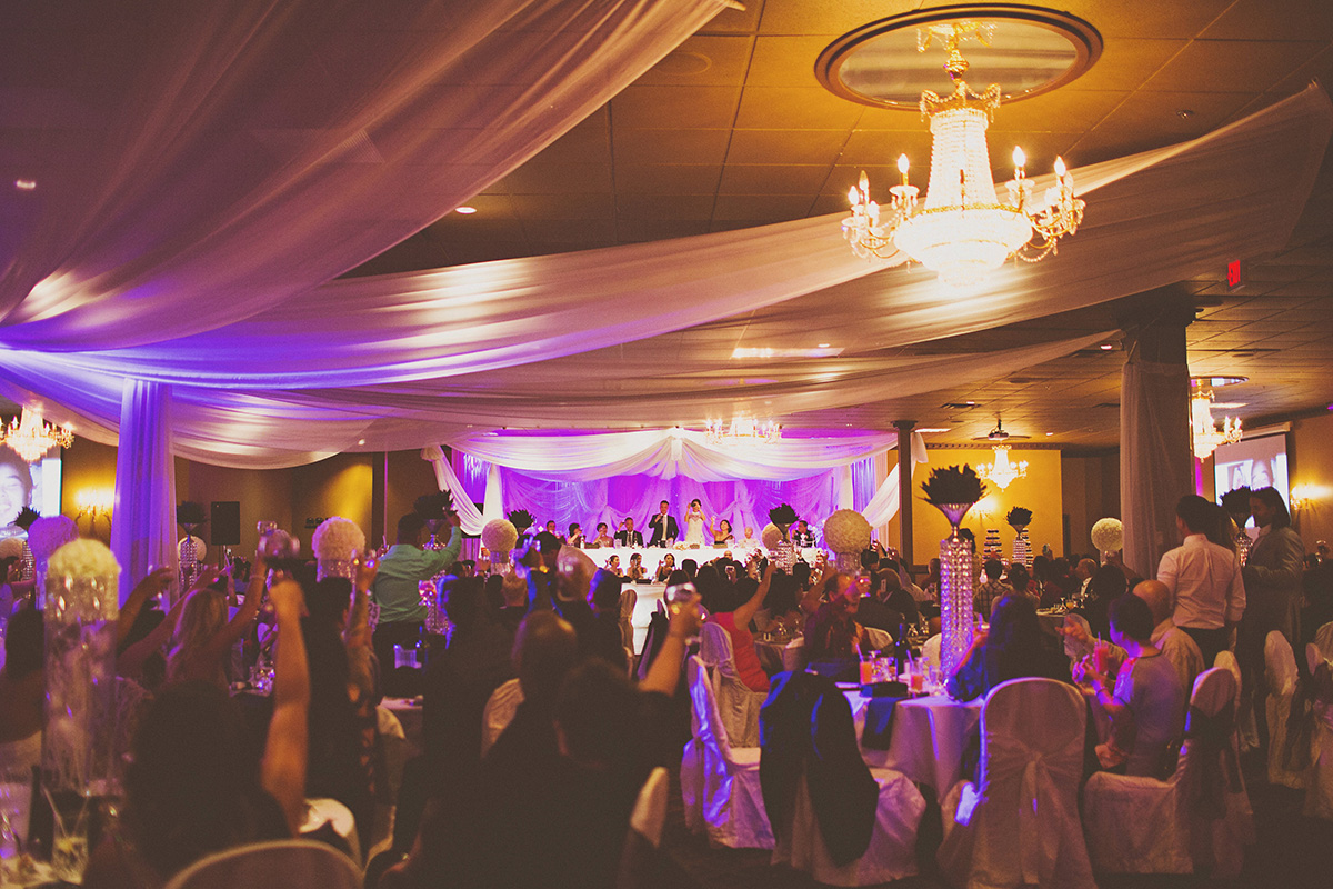 Wedding & Reception Ceremony In Edmonton, AB